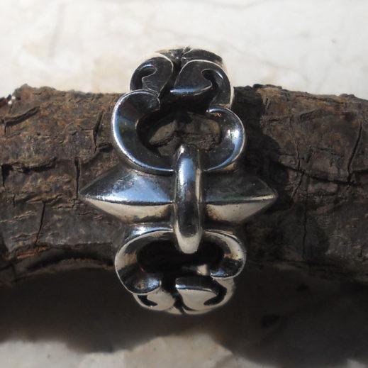 Fleur De Lis Sterling Silver Ring